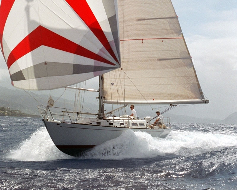 how to fly a spinnaker